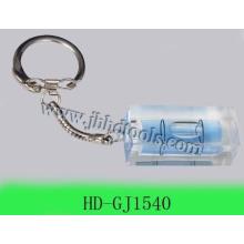 spirit level key chain