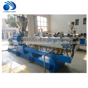High quality high output medical tube plastic extrusion machinery/line
