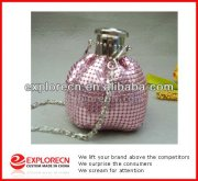Custom Pink Bling cheap evening bags