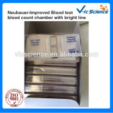 Neubauer-Improved Blood test blood counting chamber with bright line