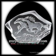 K9 Crystal Intaglio of Mold S001