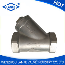 Stainless Steel CF8/CF8m Y Strainer with NPT Thread