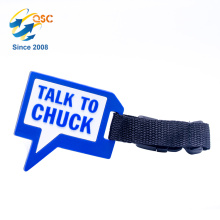 Personalized Standard Size PVC Airplane Luggage Tag Wholesale