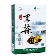 La caja de regalo de ajo chino natural negro 2016