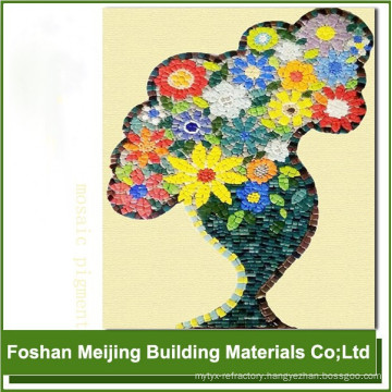 colorful pigment for bright colored porcelain floor tile mosaic producer