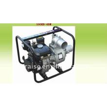 4-дюймовый самонаводящийся водяной насос с бензиновым двигателем объемом 284 см