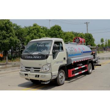 Camion de pulvérisation d'insecticide garanti 100% FOTON 4000 litres