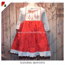 girls cotton kids European casual dress