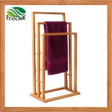3 Tier Bamboo Bath Towel Rail for Bathroom Furniture