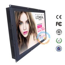 "Ecran LCD haute luminosité 23 ""avec boîtier métallique industriel"