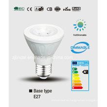 Regulable LED PAR bombilla PAR20-Sbl