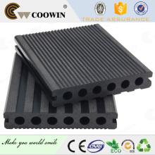 Piscina de madeira compósitos baratos placas de plástico decking