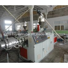 Простота в эксплуатации пластичная машина Штранг-прессования трубы PVC производственная линия