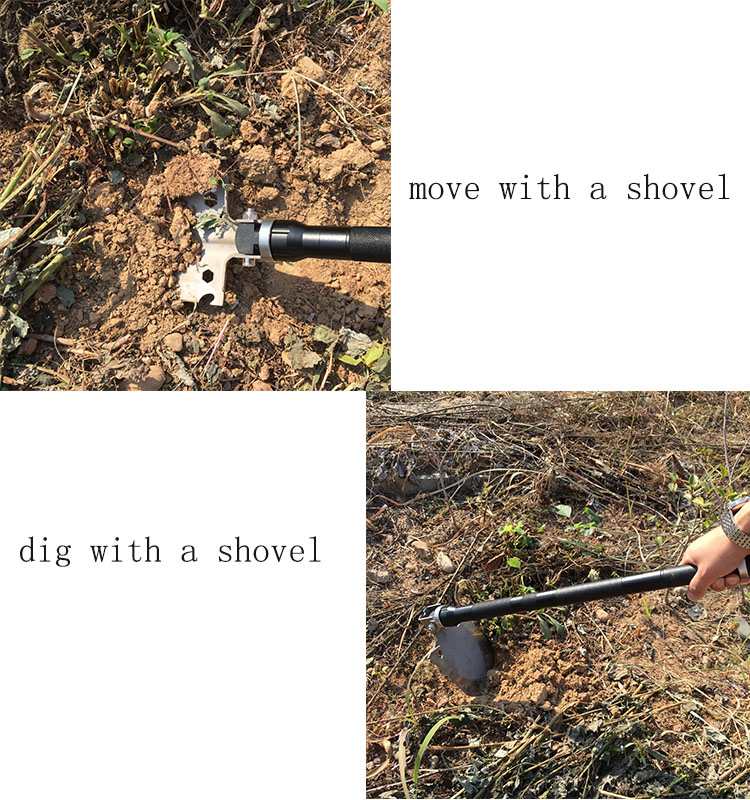 Cultivator for agriculture shovel