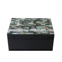 CBM-BPSBM Boîte à bijoux noire et noire Blackberry Eco Friendly