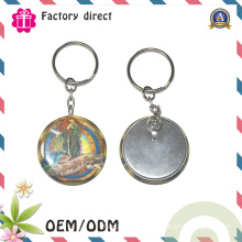Customized Printed Metal Keychain for Promotional Gifts