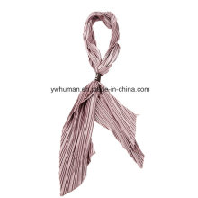 2016 Newest Style Women Long Silky Ribbon Tie Scarf