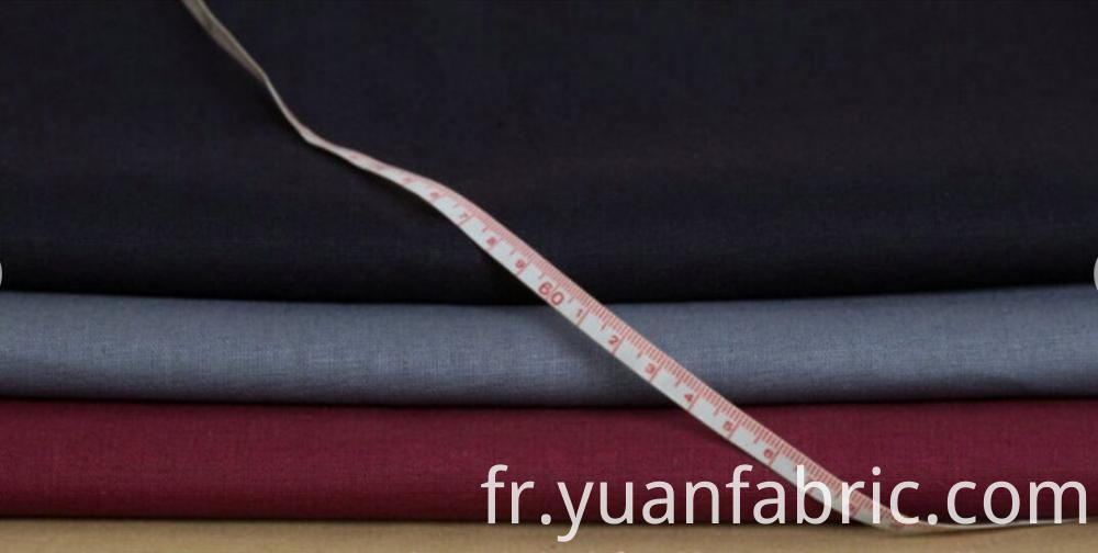 141customizable Blended Plain Dyed Woven Fabric