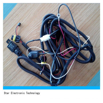 Factory Price of Custom Wire Harness for Auto Car Fog Lighting