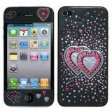 3d Embossed Screen Anti-scratch, Dust-dimensional Screen Apple Iphone4 Bumper Protector Iphone4 / 4s