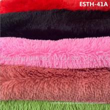 PV Plush/ Polyboa / Tricot Velboa / Warp Knit Boa Esth-41A