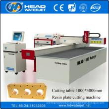 Machine d'eau de CE ISO de NOUVELLE condition Machine de découpage de plaque de résine