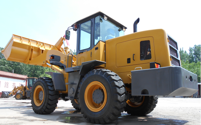 Heavy Machinery Wheel Loaders