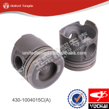 Original yuchai engine piston 430-1004015C(A) for yc6108-430