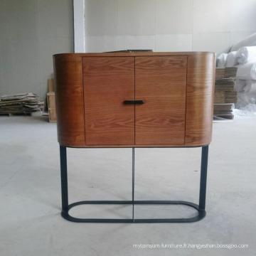 Buffet design en bois moderne