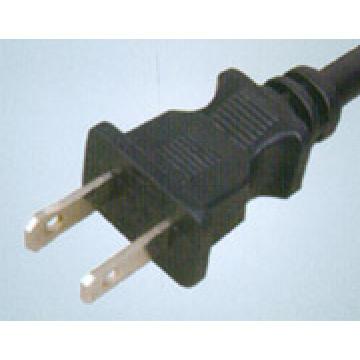 American 2 Pin AC Power Cord Plug
