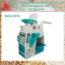 Venta caliente de alta eficiencia compacta máquina de molino de arroz para la venta