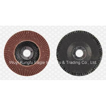 Aluminium Oxide Flap Abrasive Discs (fibre glass cover 22*14mm 40#)