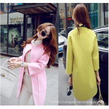 OEM 2015 High Quality Newest Fashion Ladies Trench Coat