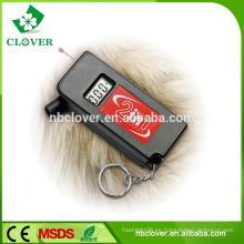 2 en 1 llavero medidor de múltiples funciones portable de la profundidad del neumático de Digitaces, calibrador del neumático para el coche
