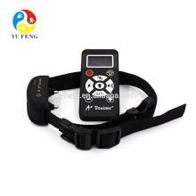 Cuello de entrenamiento de perro collar de E impermeable automático manual, operación recargable con control remoto inalámbrico de 800 yardas