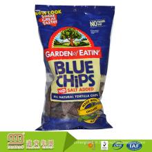 Sachet en plastique clair de poche d'oreiller d'emballage alimentaire de casse-croûte d'OEM / Odm pour des pommes chips avec la fenêtre
