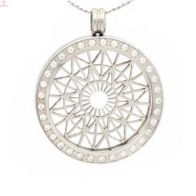 Мода монета держатель подвеска ожерелье,монета подвески с плиты
