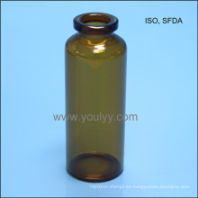 Botella de vidrio tubular de 30 ml