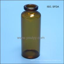 Flacon en verre standard ISO 30 ml