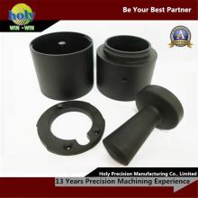 Кофе Сторона компоненты CNC алюминия CNC поворачивая части CNC токарного станка подвергая механической обработке