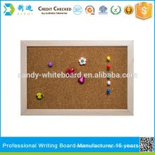 Nouveau cadre en bois Corkboard 30 * 40cm
