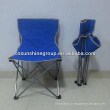Cadeira de acampamento portátil com 210D carreg o saco para camping