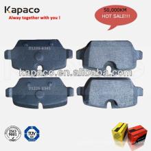 Fabricants de plaquettes de frein de frein auto allemand D1226-8345