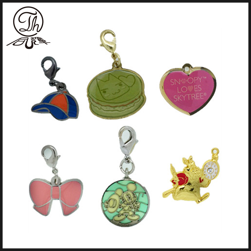 Cartoon vintage charm bracelet charms