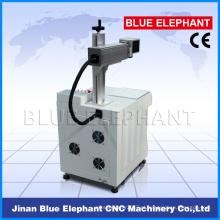 Máquina da marcação do laser da fibra, máquina de gravura do laser do metal para venda