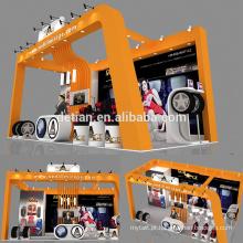 A Detian oferece estande modular para exposição de exposição