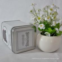 Venda Por Atacado High Quality Square Watch Tin Box Watch Tins Fabricante