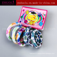 Bande élastique en tissu avec impression