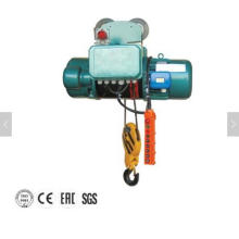 Equipo de elevación del alzamiento eléctrico de la cuerda de alambre