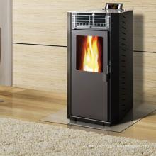 Современная печь для сжигания древесных пеллет